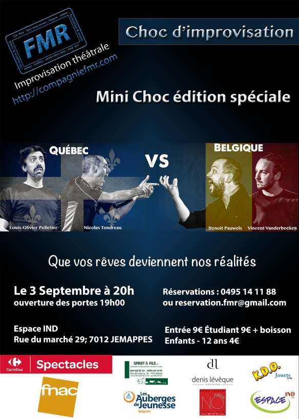 Affiche Choc 3 Septembre