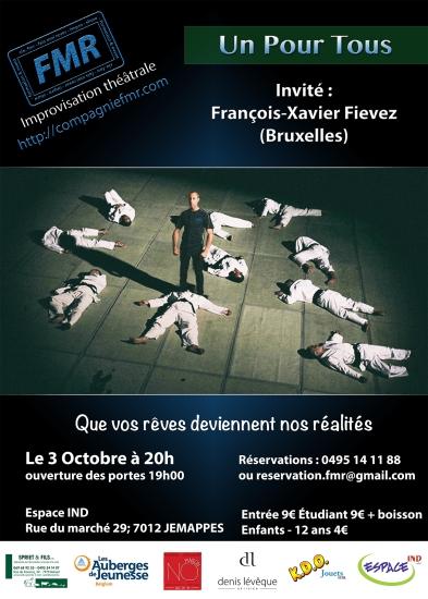 Affiche Un Pour Tous 3 Octobre