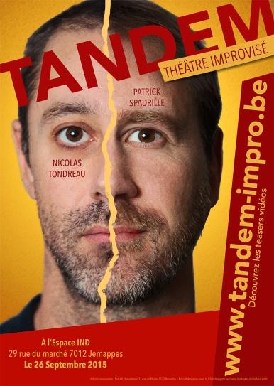 Tandem - Affiche Jemappes