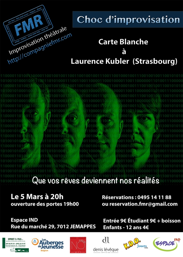 Affiche Choc 5 Mars