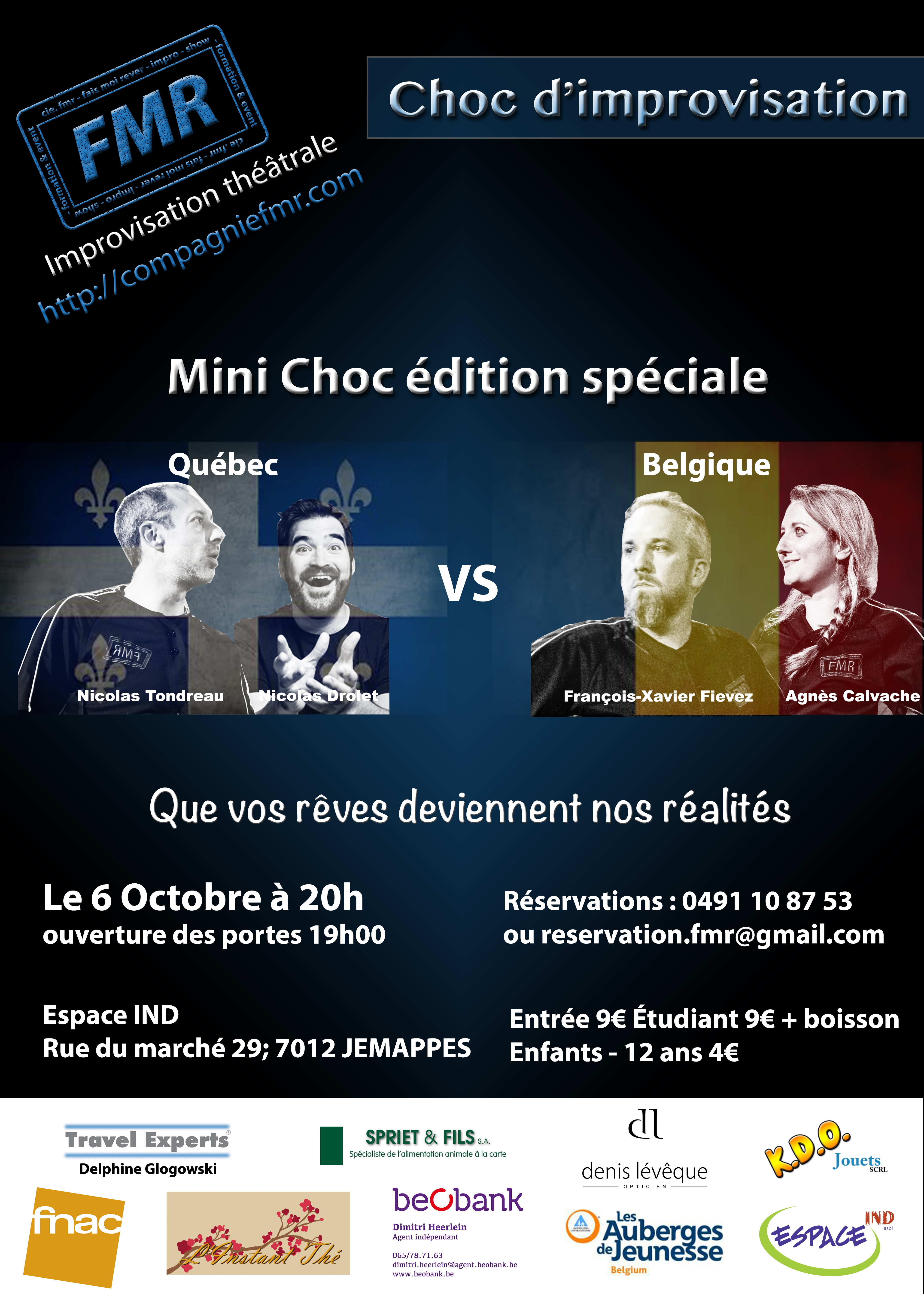 Affiche Choc 6 Octobre