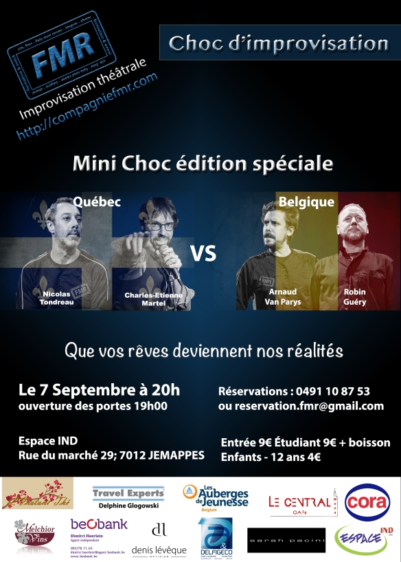 Affiche Choc 7 Septembre